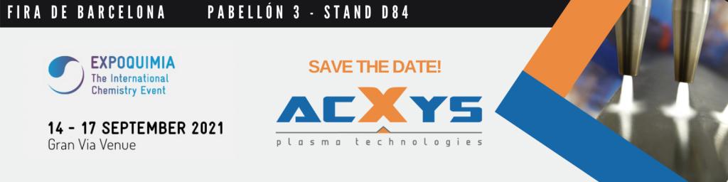AcXys Technologies participe au Salon de Barcelone